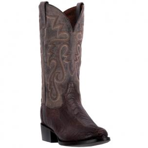 Dan Post Bellevue DP26633 Ostrich Boots Tobacco / Chocolate Image