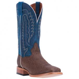 Dan Post Bradey DP4511 Leather Boots Chocolate / Blue Image