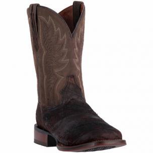 Dan Post Cade DP2996 Reverse Eel Boots Chocolate Image