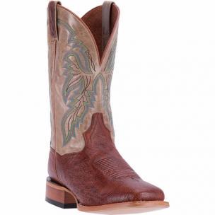Dan Post Callahan DPP5211 Smooth Ostrich Boots Cognac / Bone Image