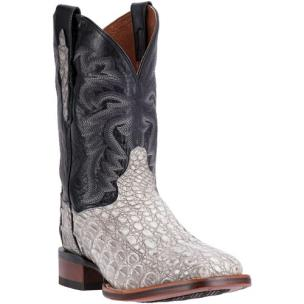 Dan Post Denver DP3879 Stainwashed Caiman Boots Grey / Black Image