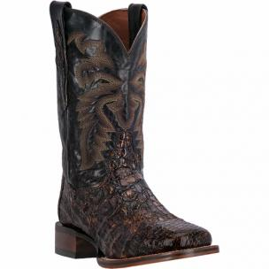 Dan Post Everglades SQ DP3853 Flank Caiman Boots Sunset Mystic / Chocolate Image