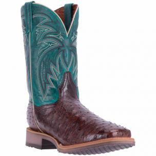 Dan Post Freestone DP4532 Full Quill Ostrich Boots Tobacco Image