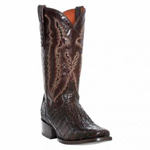 Dan Post Lagoon DP2374 Flank Caiman Boots Chocolate Image