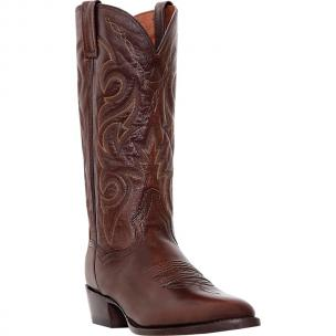 Dan Post Milwaukee DP2111R Western Boots Antique Tan Image