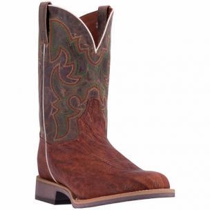 Dan Post Odessa DP4509 Shrunken Shoulder Boots Cognac Image