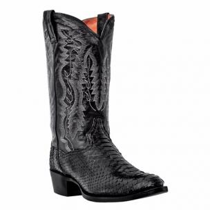 Dan Post Omaha DPP3037 Python Western Boots Black Image