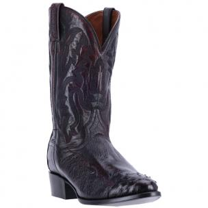 Dan Post Pugh DPP5205 Ostrich Boots Black Cherry Image
