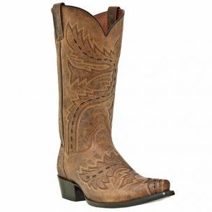 Dan Post Sidewinder DP2233 Western Boots Tan Image