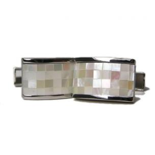 Daniel Dolce Mosaic Mother of Pearl Cufflinks BV566W Image