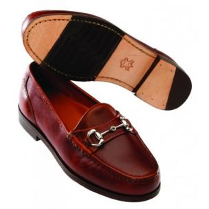 T.B. Phelps Bit Loafers Brown Image