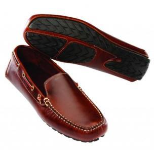 David Spencer Magellan Venetian Driving Shoes Brown Image