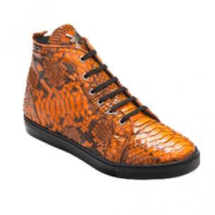 David X Mezzo Python Sneakers Orange Image
