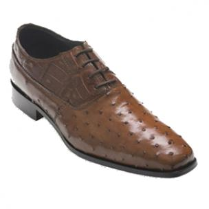David X Tito Ostrich & Caiman Oxfords Brown Image