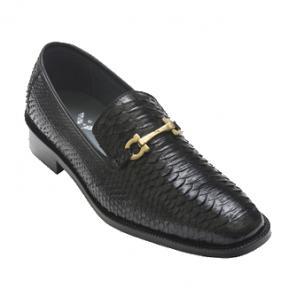 David X Todd Python Bit Loafers Black Image