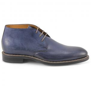 Dogen Nordve i770 Hand Antiqued Chukka Boots Deep Blue Image