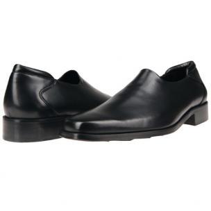 Donald J Pliner Rex Calfskin Loafers Black Image