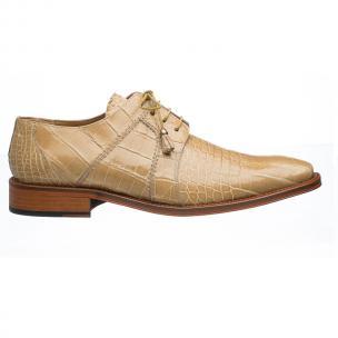 Ferrini 205 / 528 Alligator Derby Shoes Beige Image