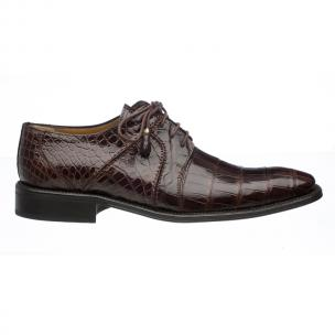 Ferrini 205 / 528 Alligator Derby Shoes Chocolate Image