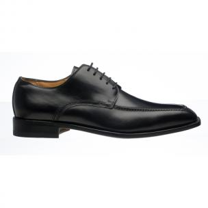 Ferrini 3898 French Calfskin Derby Shoes Black Image