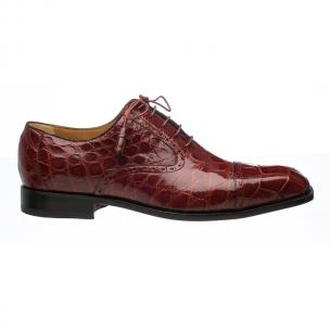 Ferrini 3922 Alligator Cap Toe Oxfords Sport Rust Image