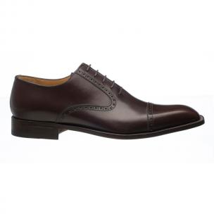 Ferrini 3922 French Calfskin Cap Toe Oxfords Brown Image