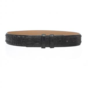 Ferrini Hornback Crocodile Belt Black Image