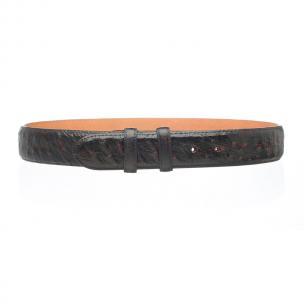 Ferrini Ostrich Quill Belt Black Cherry Image