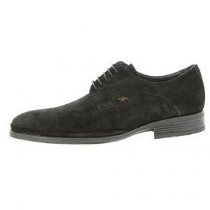 Fluchos 8020 Afelpado Suede Shoes Black Image