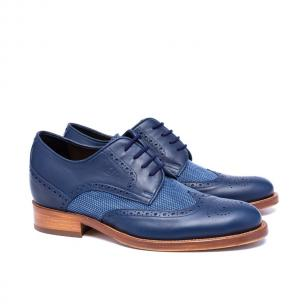 Guido Maggi Dandy Full Grain Shoes Blue Image