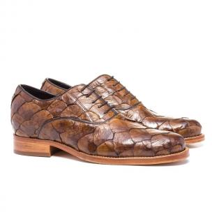 Guido Maggi Rua Oscar Freire Piracucu Leather Shoes Brown Image