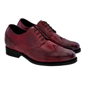 Guido Maggi San Jose Full Grain Shoes Burnished Bordeaux Image