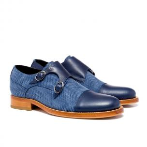 Guido Maggi Savile Row Full Grain Shoes Blue Image