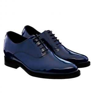 Guido Maggi Sicily Calfskin Leather Shoes Navy Blue Image