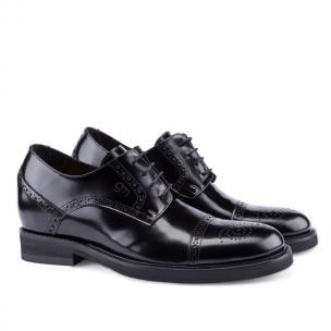 Guido Maggi Toscana Calfskin Shoes Black Image