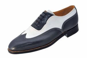 Ildiko Gal Antibes Handmade Wing Tip Spectator Shoes Image