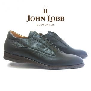 John Lobb Winner Calfskin Sport Shoes Black Image