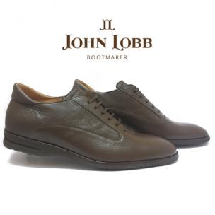 John Lobb Winner Calfskin Sport Shoes Mocha Image