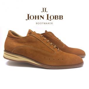 John Lobb Winner Velveteen Sport Shoes Sand Image