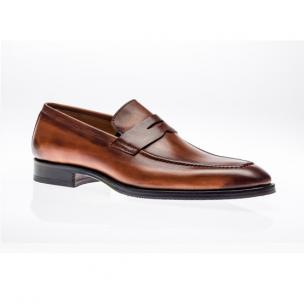 Jose Real Amberes Penny Loafers Tuscania Image