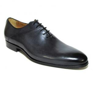 Jose Real Berlina Hand Antiqued Plain Toe Oxfords Anthracite Image