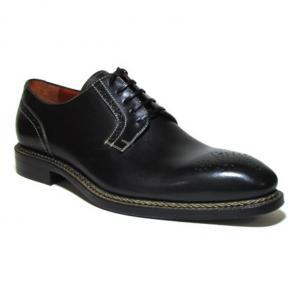 Jose Real Nordve Medallion Toe Derby Shoes Black Image