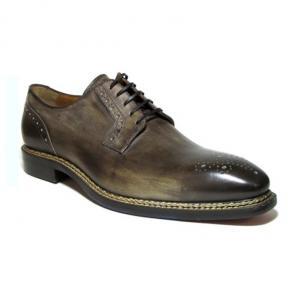 Jose Real Nordve Medallion Toe Derby Shoes Café Image