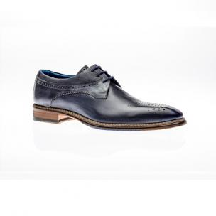 Jose Real Veloce Derby Brogues Antracite Cobalto Image