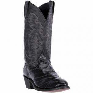 Laredo Marshall 6730 Genuine Eel Boots Black Image