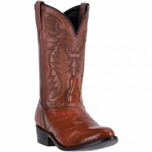 Laredo Marshall 6735 Genuine Eel Boots Cognac / Brown Image