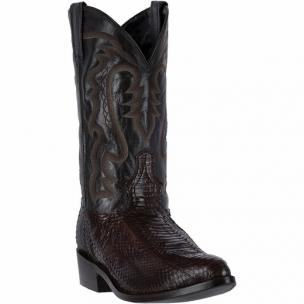 Laredo Tucker 6764 Water Snake Boots Tobacco Image