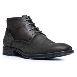 Lloyd Dero Suede Ankle Boots Dust Grey Image