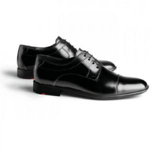 Lloyd Galant Cap Toe Shoes Black Image