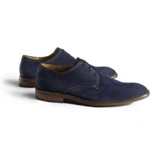 Lloyd Hel Suede Lace Up Shoes Ocean Image